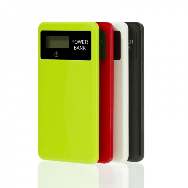 PP032 real capacity long lifetime digital display power bank 4000mah