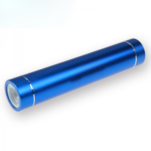 PM002 metal cylinder power bank 2600mah portable