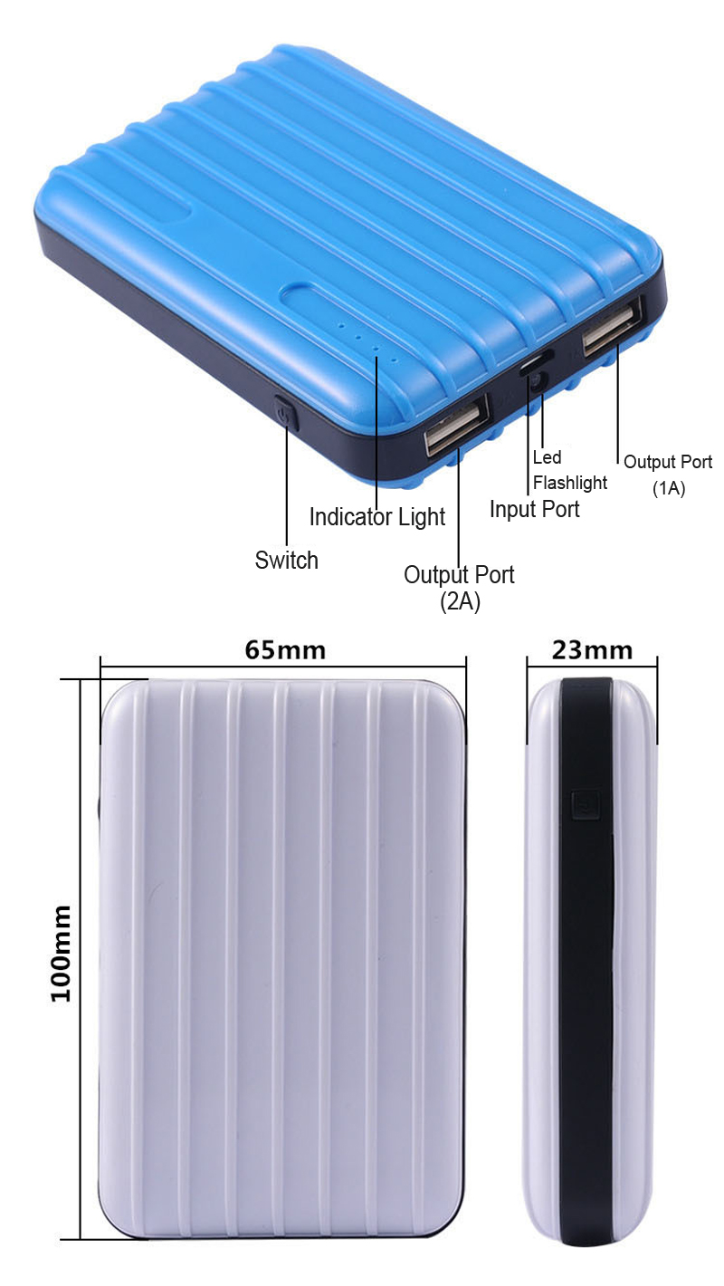 pocket sized power bank wholesale—TOPTAI 1