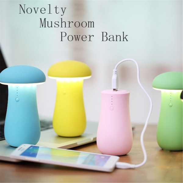 new products for 2016 mushrooms power bank 8000mah—TOPTAI