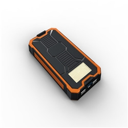 Camping Outdoor Solar LED Power Bank 12000mah Best Quality dustproof charger