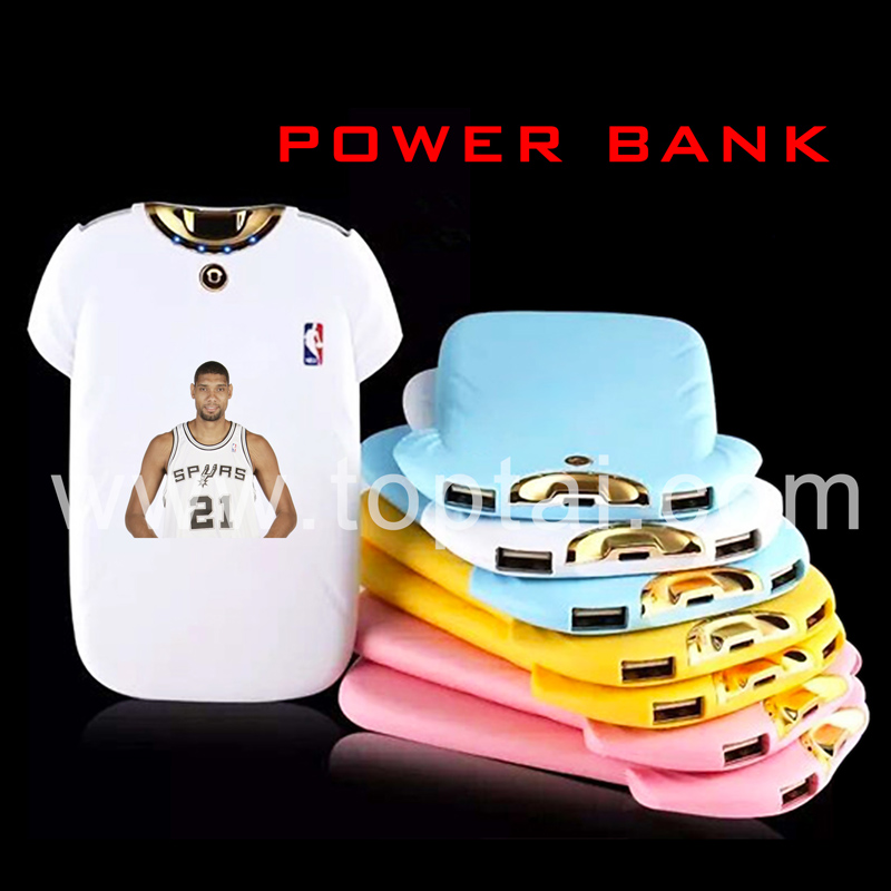 Kobe Bryant ultra slim polo shirt power bank portable charger
