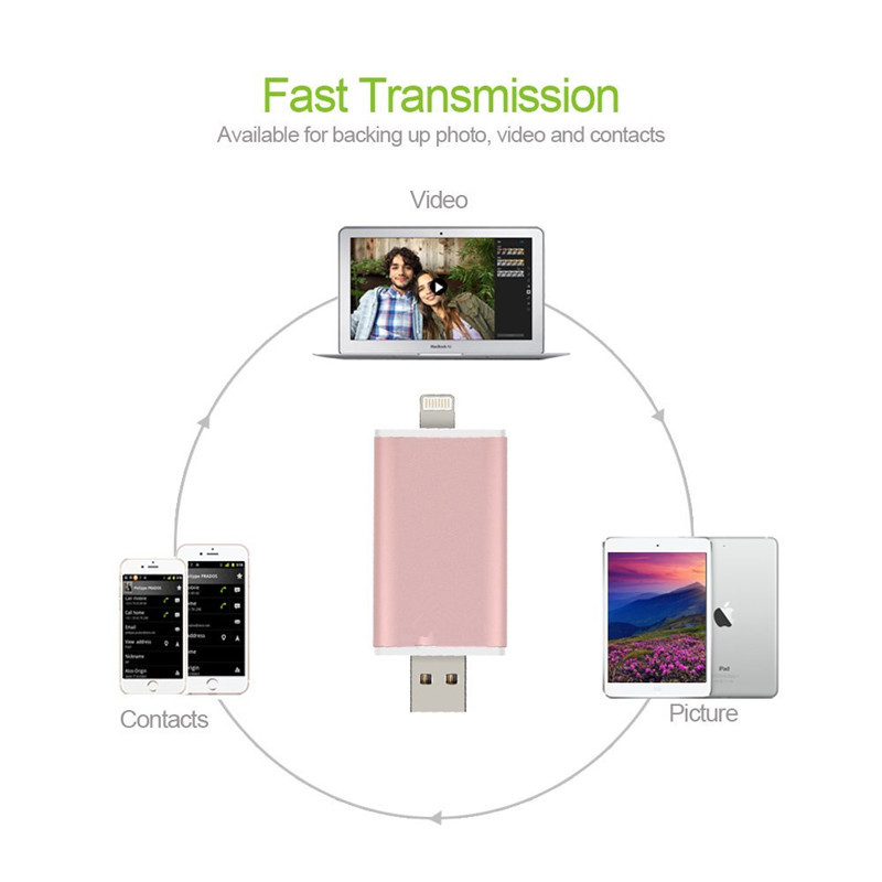 pen drive usb 3.0 MFI usb flash drive 32GB 64GB 128GB for iphone pendrive for ipad External Storage usb stick