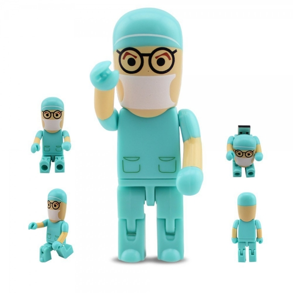 moveable Doctor nurse model...