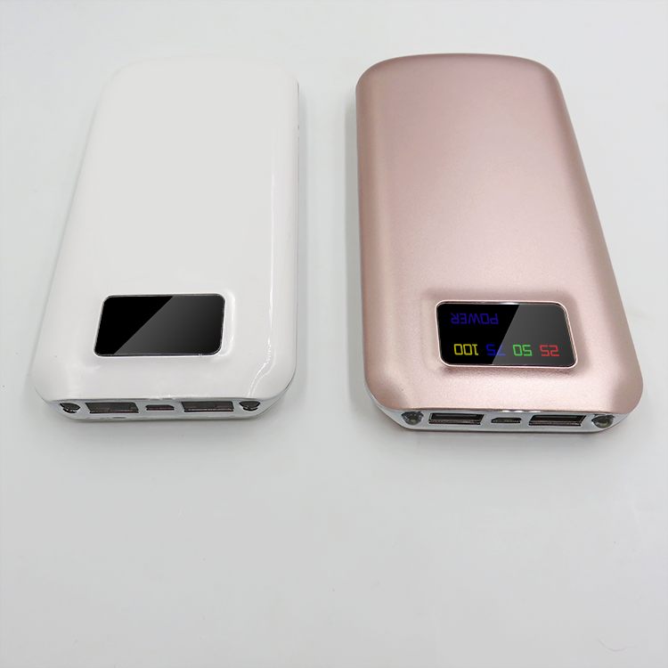 Easy Style 10000mAh Compact Power Bank with Smart LED Digital Display