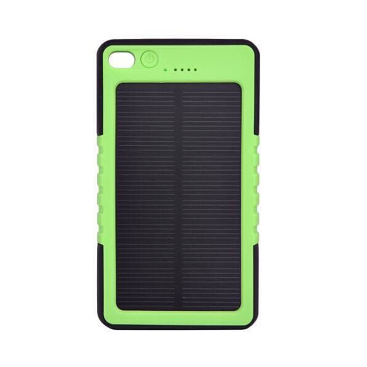 best selling solar power bank 6000mah portable