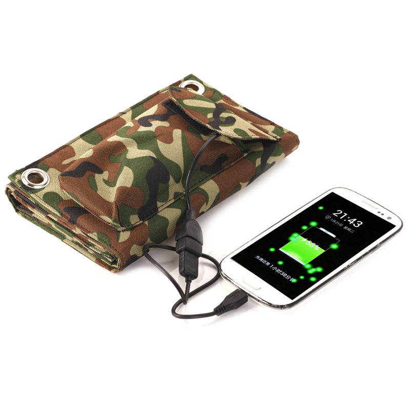 Flexible-Solar-Panel-Charger-8W-USB-Battery-Foldable-Folding-Solar-Battery-Solar-Power-Bank-Mobile-Charger (2)