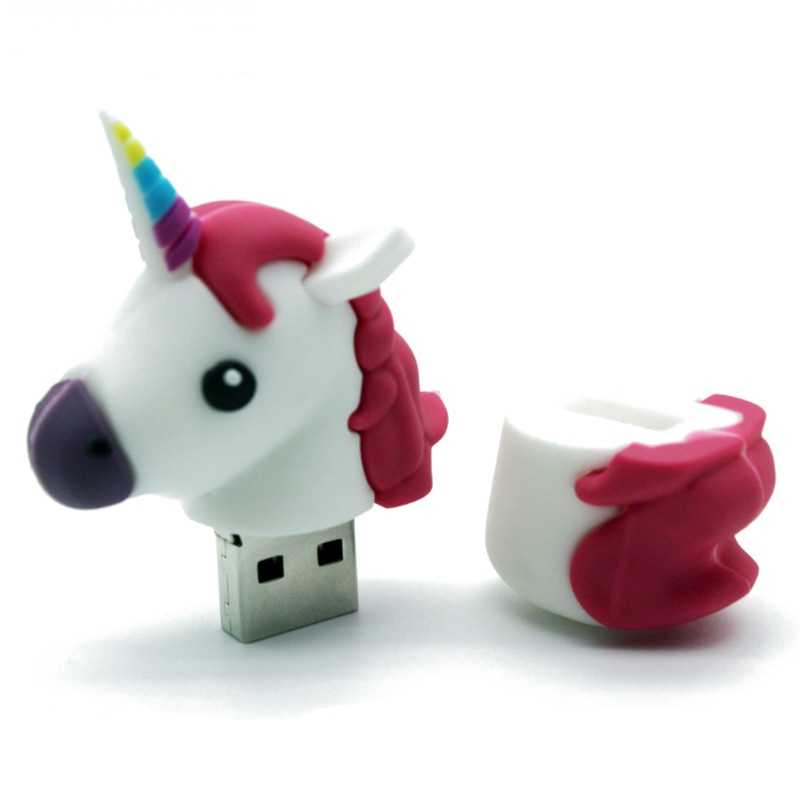 Unicorn Shape 16GB USB 2.0 Flash Drive