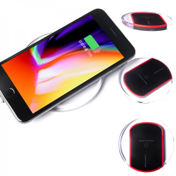 Mobile Wireless Charger Universal, Crystal Wireless Charger Module, Qi Wireless Charger Pad Mouse